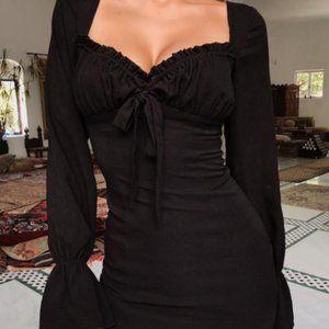 Tiger Mist Orchard Black Dress
